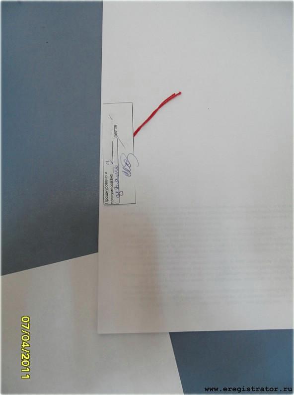 образец наклейки пронумеровано прошнуровано скреплено печатью
